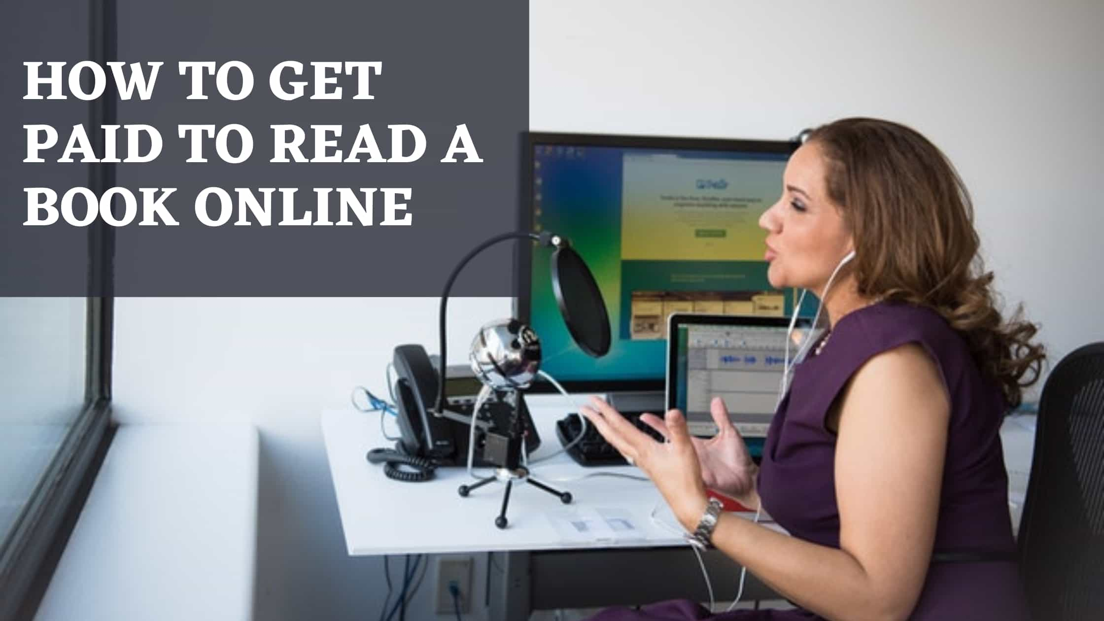 How to get paid to read a Book