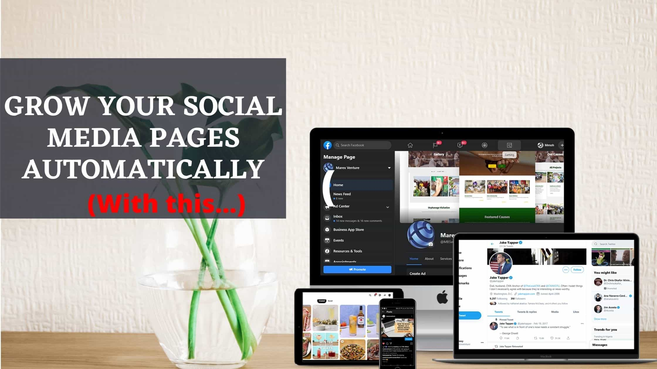 Best way to grow your Social Media automatically