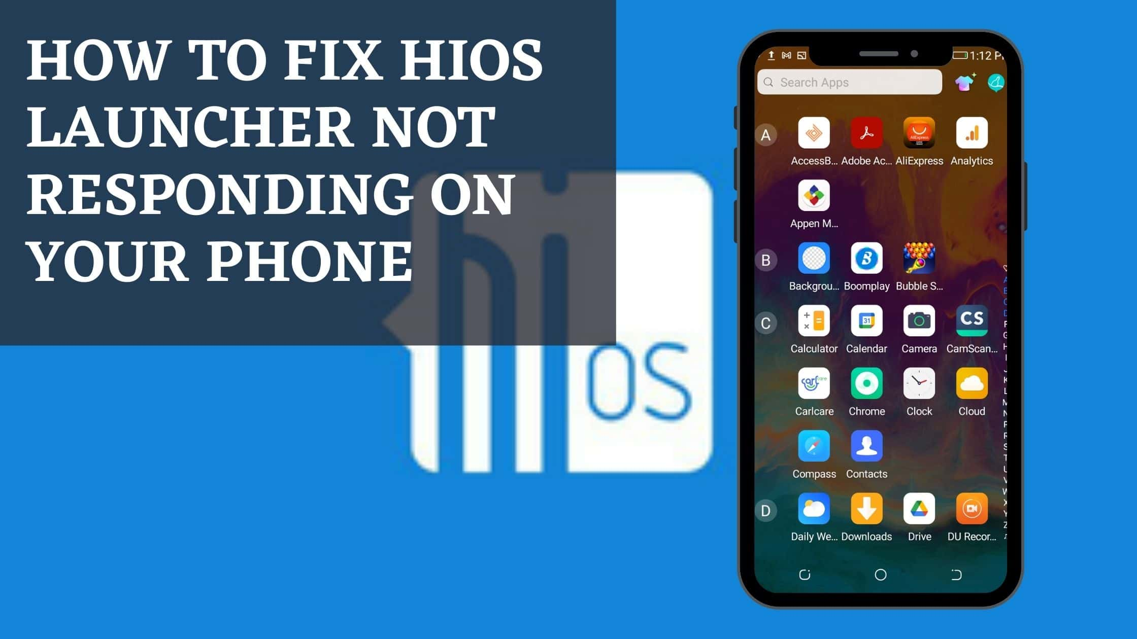 How to fix HIOS Launcher not responding on your phone